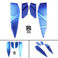 Foot Peg Plate Footrest Step Pad Mat Cover For Yamaha XMAX 125 250 300 400 Blue