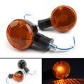 Turn Signal Bullet Lights Motor For Kawasaki Vulcan 800 Yamaha Road Star BlA