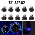 10pcs T3 Neo Wedge Led Bulbs Instrument Panel Cluster Interior Lights Pure Blue