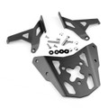 Sissy Bar Luggage Rack Carrier Plate For Kawasaki ER-6N ER-6F 12-16 Black