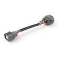 Obd2 8-Pin To Obd2 10-Pin Distributor Adapter Jumper Harness For Honda Acura Black