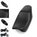 Leather Driver Passenger 2-Up Seat For Harley Davidson Street XG700 500 2014-17 Black