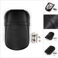 Rear Passenger Pillion Pad Seat For 2015-up Kawasaki Vulcan 650 VN650 Black