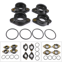 Carburetor Intake Manifold Boots Set For Suzuki GSF1250A Bandit 1250 07-12 GSF1250SA Bandit 1250 07-14 GSX1250 GSX1250FA 10-14
