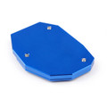 CNC Kickstand Side Plate Stand Extension Pad For BMW G310R G310GS 2017-18 Blue