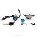 Ignition Switch Fuel Gas Cap Seat Lock Key Set For Honda CBR125R 04-10 CBR125RS