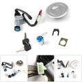 Ignition Switch Petrol Fuel Cap Seat Lock Set Kit Keys For Honda CBF125 09-13