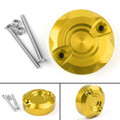 Rear Brake Fluid Reservoir Oil Cap For Aprilia RSV4 09-12 1100R 04-09 Gold