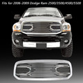 Mesh Front Grille Shell For Dodge Ram 1500 2013-2018