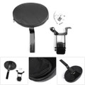 Plug-in Driver Backrest w/ Mounting Kit For Indian Chief 2014-2018 Black