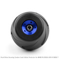 1Final Drive Housing Cardan Crash Slider Protect for BMW R1200GS LC 13-16 ADV Blue