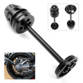 Rear Axle Hub Crash Pad Slider Protector For BMW R Nine T Scrambler Nine T Pure,Racer,Urban G/S, R1200GS LC ADV Black