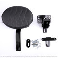 Adjustable Plug In Driver Backrest Kit for Harley Touring Electra Glide 14-18 B