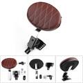 Adjustable Plug In Driver Backrest Kit for Harley Touring Road Glide 14-18Chrome