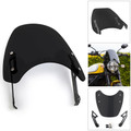 Windshield Windscreen Wind Defector protection For Ducati Scrambler 2015-2018 Black