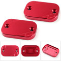 FRONT Brake Fluid Reservoir Cap For YAMAHA NMAX 155 2015-2016 Red