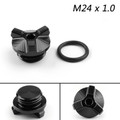 M24 Oil Filler Plug Screw Cap For For BMW G310GS G310R 2017-2018 Black