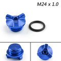 M24 Oil Filler Plug Screw Cap For BMW G310GS G310R 2017-2018 Blue