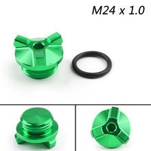 M24 Oil Filler Plug Screw Cap For BMW G310GS G310R 2017-2018 Green