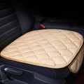 Universal Car Seat Cover Soft Warm Breathable Mat Fits Auto Chair Cushion Beige