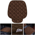 Universal Car Seat Cover Soft Warm Breathable Mat Fits Auto Chair Cushion Brown