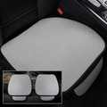Ice Silk Car Front Seat Cover Full Surround Breathable For Auto Chair Cushion Gray