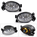 Front Fog Lights Lamps With Bulb Pair For Mercedes W211 E350 E550 2007-2009 Clear