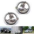 2 PCS Bumper Fog Front Light Lamp W/Bulb For Mercedes C300 C350 CL550 CL600, CL63 CL65 SL63 SL65  SLK55 AMG