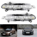 2PCS LED DRL Daytime Running Fog Light For Mercedes Mercedes C250 C300 C350 GLK350 AMG