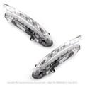 2PCS LED DRL Daytime Running Fog Light For Mercedes Mercedes CLS550 S350 12-13 S450 09-11