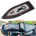 Tie Leather Plain Rear Fender Bib For Harley Sportster XL883 Solo Seat 04-16