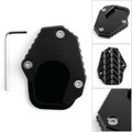 1X Kickstand sidestand stand extension enlarger pad For HONDA CRF250 RALLY 17-18 Black