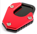 Kickstand sidestand stand extension enlarger pad For HONDA CRF250 RALLY 17-19 red