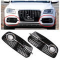 SQ5 Style Grille Fog Lights for AUDI Q5 13-17 (NOT for SQ5 & SLINE)