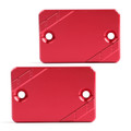 CNC FRONT Brake Fluid Cap Left & Right For HONDA FORZA 125 300 PCX125/150 Red