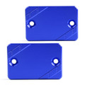 CNC FRONT Brake Fluid Cap Left & Right For HONDA FORZA 125 300 PCX125/150 Blue