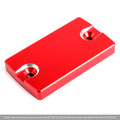 CNC FRONT Brake Fluid Reservoir Cap For Suzuki GSR 250 400 750 06-17 DL650 Red
