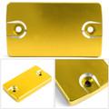 CNC FRONT Brake Fluid Reservoir Cap For Suzuki GSR 250 400 750 06-17 DL650 Gold