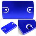 CNC FRONT Brake Fluid Reservoir Cap For Suzuki GSR 250 400 750 06-17 DL650 Blue