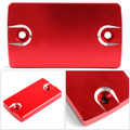 CNC FRONT Brake Fluid Reservoir Cap For Suzuki GSX-S750 16-18 DL650 04-17 VanVan 200 03-13 Red