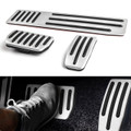 3PCS Non-Slip Aluminum Accelerator Brake Foot Rest Pedal Pad For Tesla Model S&X