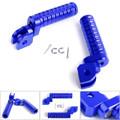 CNC Front Foot Pegs For GSX-S750 GSX-S1000F/Z 15-17 GSX250R V-STROM250 17 GSX-R 1000 09-15 GSX-R 600 750 08-15 Blue