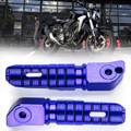 Rear Footrest Footpegs For HONDA CB125R CB250R CB300R CBR250RR CBR600RR Blue