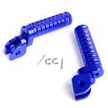 CNC Front Foot Pegs For CB600F 98-13 CB900F 02-07 CBF1000F 10-12 CBF600 08-10 CBR250R 11-14 VFR1200F 10-14 Blue