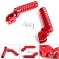 CNC Front Foot Pegs For HONDA CBR300R 15-16 CBR600RR 03-06 CBR1000RR 04-15 CBR1100XX 97-08 MSX125/GROM125 VFR800F 14-15 Red