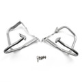 Front Engine Guard Crash Bars Heed For BMW R 1200 RT R1200RT 2014-2016 Silver
