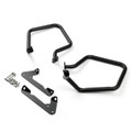 Rear Engine Guard Crash Bars Heed For BMW R 1200 RT R1200RT 2014-2016 Black