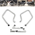 Rear Engine Guard Crash Bars Heed For BMW R 1200 RT R1200RT 2014-2016 Silver