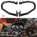 Reliable Engine Guard Highway Crash Bars For Indian Scout 2015-2018 Black