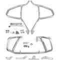 Engine Guard Crash Bar Upper + Lower Kit For BMW G310R 17-18 G310GS 2018 Silver